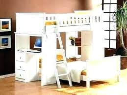 bunk bed office underneath. Loft Bed With Desk Underneath Bunk Under Office . H