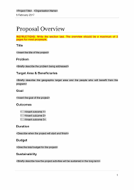 Project Proposals 24 Professional Project Proposal Templates Template Lab 1