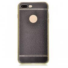 szkinston imitation leather case for iphone 7 plus 8 plus black free dealextreme