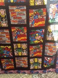 Batman Comic Book Quilt | Book quilt, Batman comic books and ... & Steve's Marvel quilt Adamdwight.com