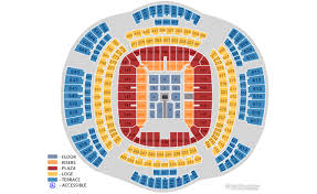 Seating Chart Superdome New Orleans Seating Chart Released For Wrestlemania 30 Ppv Wrestling