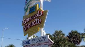 Light Up Pensacola Beach Sign Ornament New Pensacola Beach Sailfish Welcome Sign Illuminated In