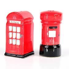 Sale e pepe londra cabina telefonica e cassetta della posta