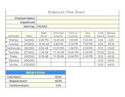 Hour Calculator Excel Template