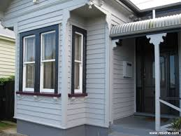 Resene Exterior Colour Chart A Grey Baseds Exterior Colour Scheme In Keeping With The Age