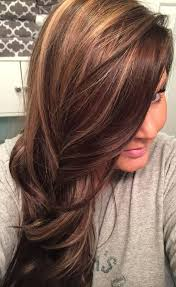 love my hair dark golden brown with honey blonde highlights