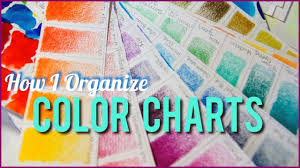 How I Organize Color Swatches Holbein Prismacolor Colored Pencil Watercolor
