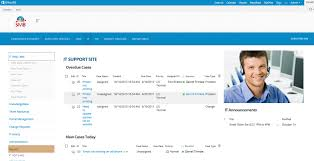 sharepoint online templates it help desk portal template for office 365 and sharepoint new site