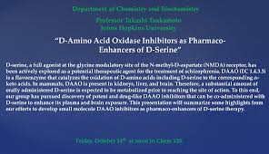 d amino acid oxidase inhibitors as pharmaco enhancers of d serine related articles