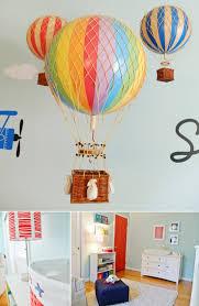 Hot Air Balloon Nursery Themed Murals : Nursery Murals and More