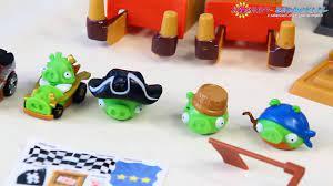 Pig Rock Raceway Set / Świński Tor Wyścigowy - Telepods - Angry Birds Go! -  Hasbro - A6030 - Dailymotion Video