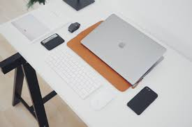 minimal office. Minimal Office Free Photo. Download Photo A