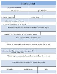 job estimate form templates job estimate form templates job estimate form templates dimension n tk