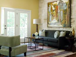 Modern Colors For Living Room Walls Behind The Color Yellow Hgtv