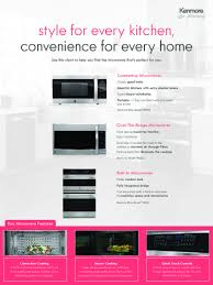 kenmore built in microwave. the microwave was a groundbreaking invention that helped usher in lifestyle of convenience and simplicity. we think your shopping search should be kenmore built