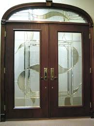 white double front door. Black Double Front Door Single Swing Doors With Small Pair Of White Windowed Feat Brick Glass H