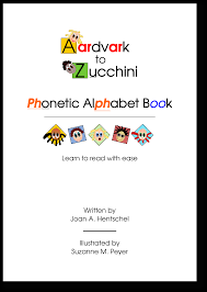 Linguists designed ipa to be unambiguous: Aardvark To Zucchini Phonetic Alphabet Book Sold By Aardvark To Zucchini Press On Storenvy