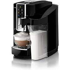 When the machine is ready to be used, the water comes out in the tray at the bottom and not through the coffee pods and into the cup. Hd8603 31 Cafissimo Latte Capsule Coffee Machine Hd8603 31 Integrated Milk Carafe Black Philips Support