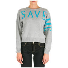 Alberta Ferretti Size Chart Womens Jumper Sweater Crew Neck Round Save Me