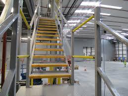 Staircases For Mezzanine Floors Hi Level Mezzanine Floors
