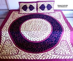 New Bed Sheet Design Sets Best New Bridal Bed Sheets Designs In Karachi Find Handmade