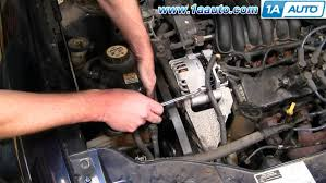2003 ford taurus engine diagram daytonva150 engine how to install replace serpentine belt idler pulley ford taurus 3 0l 2003 ford taurus wiring diagrams