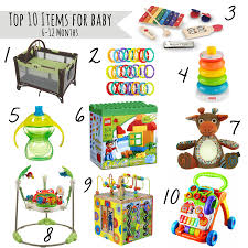 12 month top 10 must haves for babies 6 12 month old our handcrafted life
