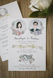 best 25 unique wedding invitations ideas only on pinterest Wedding Invitation Photography Ideas 10 beautiful hand illustrated wedding invites wedding invitation photo ideas