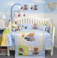 teddy bear baby nursery bedding set designs