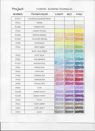 Color Charts Color Chart White Highlights