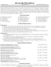 Executive Resume Example Top Resume Sample Executive Resume Samples