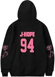 NBBZ Street Fashion <b>BTS</b> Unisex Hoodie Sweatshirt Pink <b>Printing</b> ...