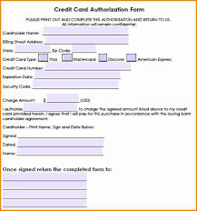 Credit Card Authorisation Form Template Australia Awesome Travel ...