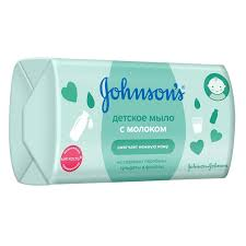 Детское <b>мыло Johnson's</b> с молоком, 100 г | Магнит Косметик