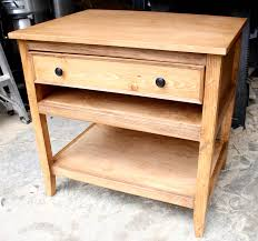 diy wood furniture projects. DIY Bedside Table Plans - Finished Diy Wood Furniture Projects