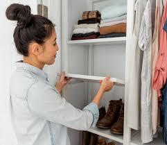 floor based vs wall mounted closet
