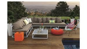 contemporary cb2 patio furniture. casbah loveseat contemporary cb2 patio furniture l