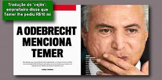 Resultado de imagem para as delações da odebrecht o golpe