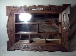 vintage knick knack wall shelf