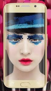 makeup camera beauty app poster