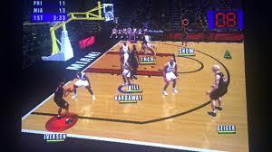 NBA Live 2001 - 76ers vs Heat Game 1 ...