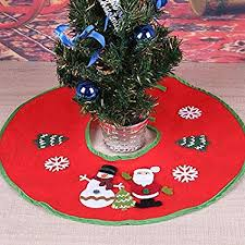 christmas tree blanket. Fine Tree Tree Skirts  Red Christmas Skirt Decoration Ornament Supermarket Blanket  Xmas Decorations Orange Disney And A