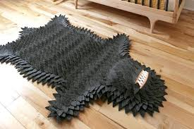fake animal skin rugs monster skin rug 1 faux animal skin rugs with head
