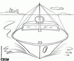 Kleurplaat De Patrouilleboot Van De Haven Kleurplaten