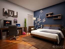 Bedrooms Walls Designs Home Design Ideas With Photo Of Classic - Painting a bedroom blue
