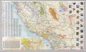 South Half Road Map Of California David Rumsey Historical