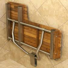 wall mounted shower seat these seats can be folded up flat against the stool swing best choice s new