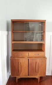 mid century hutch. Fine Mid How To Style A Midcentury Modern Hutch And Mid Century Hutch