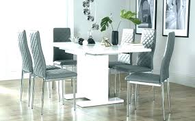 full size of modern high gloss dining table and chairs black sets cream room kitchen good