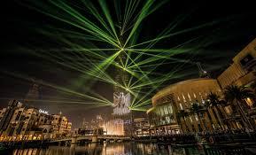 Sky Light Show Laser And Light Show At Burj Khalifa Trending Dubai